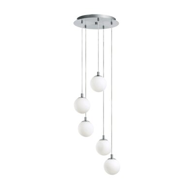 EGLO Ferrol 5 Light Foyer Pendant