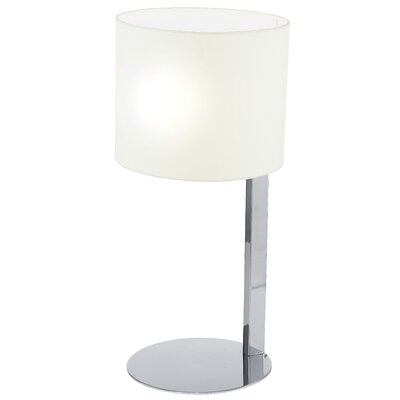 "EGLO Chicco 21.5"" H Table Lamp with Drum Shade"
