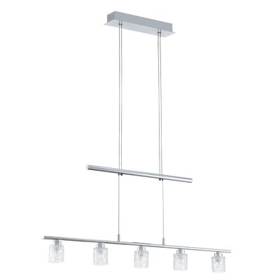 EGLO Donori 5 Light Linear Chandelier