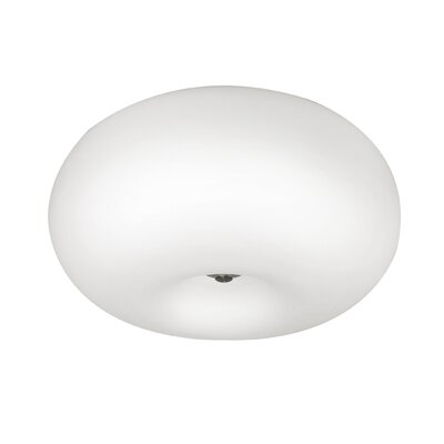 EGLO Optica 2 Light Flush Mount