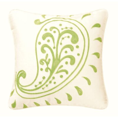 C & F Enterprises Samara Crewel / Chain Stitch Pillow