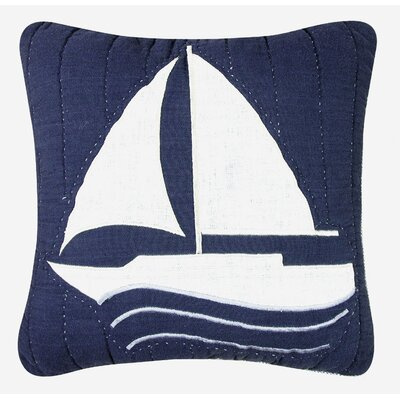 Nantucket Dream Sailboat Quilt Pillow