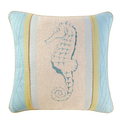 Natural Shells Embroidery Pillow