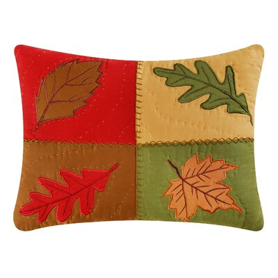 Oak Ridge Stripes Applique Pillow