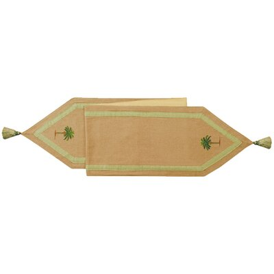 C & F Enterprises Cabana Palm Table Runner