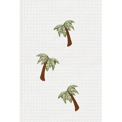C & F Enterprises Palm Tree Kitchen Towel (Set of 2)