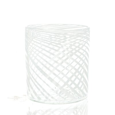 Swirl Glass Container