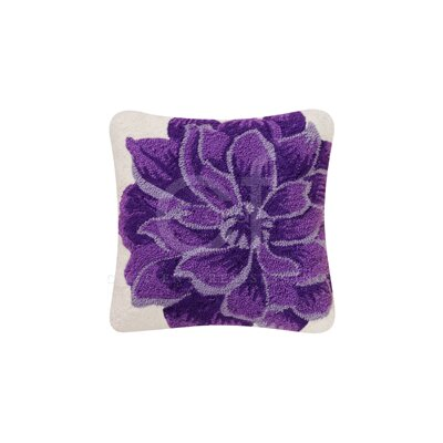 Dahlia Cotton Canvas Accent Pillow