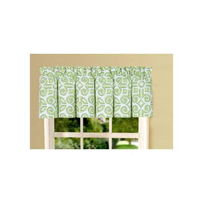 C & F Enterprises Boxwood Abbey Cotton Curtain Valance