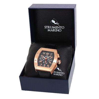 Strumento Marino Tuna SM056LRG/BK Men's Stainless Steel Watch