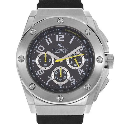 Atlantis SM055RSS/BK Men's Stainless Steel Watch