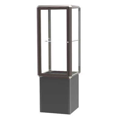 Waddell Prominence Spotlight Series Tower Display Cases