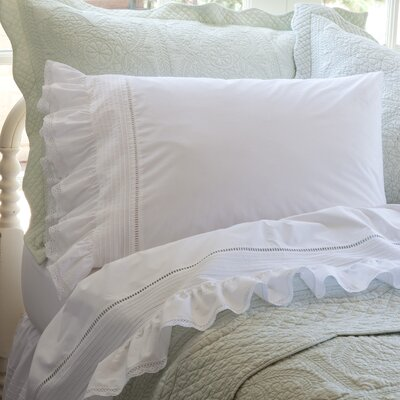 Prairie Crochet Cotton Sheet Set