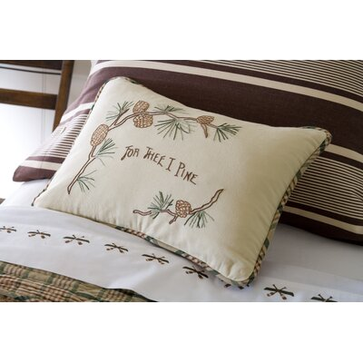 Taylor Linens Pine for Thee Boudoir Pillow