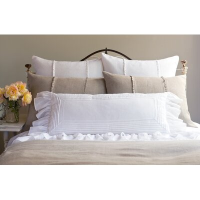 Taylor Linens Tucked Linen Pillow