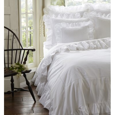 ruffled bedding