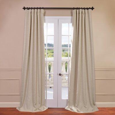half price drapes bellino blackout curtain single panel