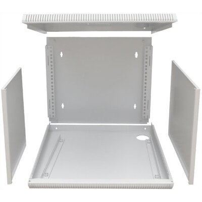 "Quest Manufacturing 600 Series 19"" E-Z Compact Wall Mount Enclosure"