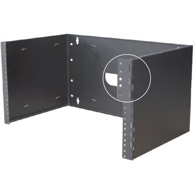 "Quest Manufacturing Hinged Wall Mount Bracket with 6"" Depth"