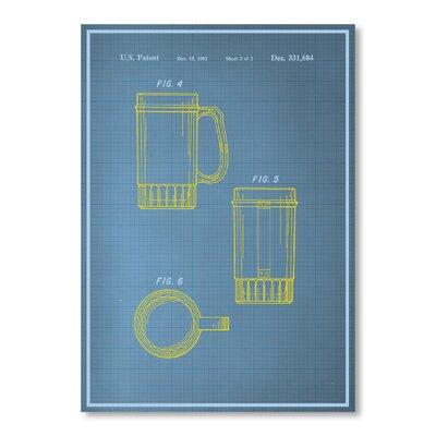 Americanflat Beer Stein II Graphic Art