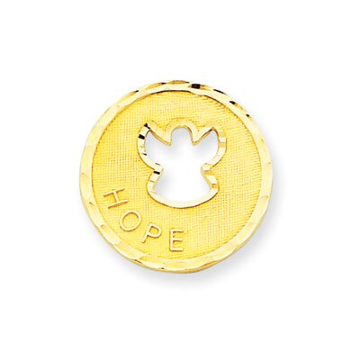 Jewelryweb 14k Angel Hope Pendant