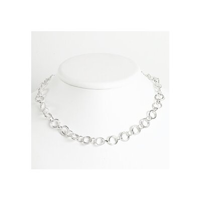 Jewelryweb Sterling Silver Necklace - 18 Inch- Spring Ring