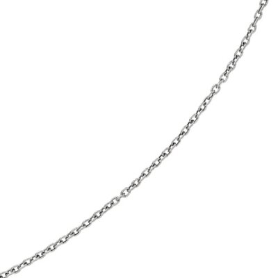 Jewelryweb 14K White Gold Necklace - 20 InchLink