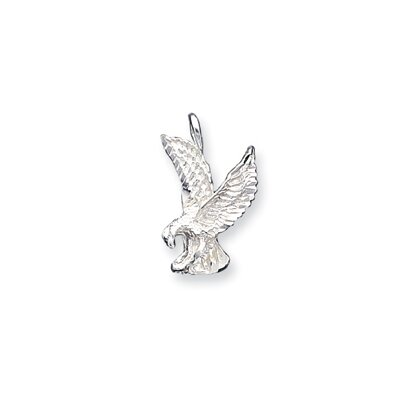 Jewelryweb Sterling Silver Eagle Charm