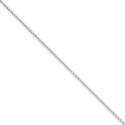 Stainless Steel 3mm Curb Chain Necklace