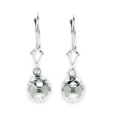 Large Ball Drop Earrings