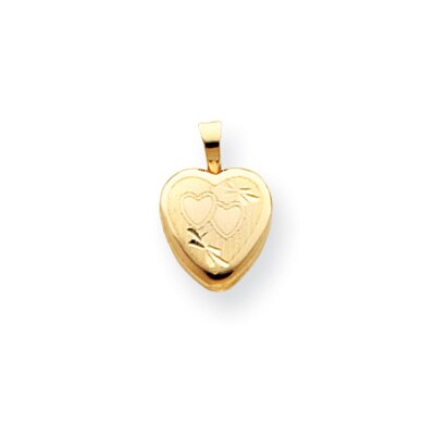 14k Childs Heart Locket