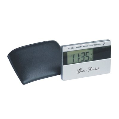 Pocket Atomic Travel Alarm Clock