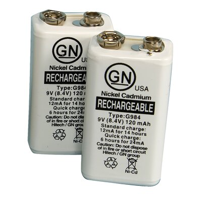ProMed Specialties ProMed 9V Rechargeable Battery