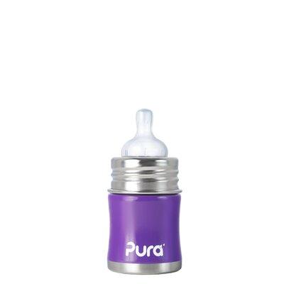 Pura Kiki Infant Bottle with Silicone Slow-flow Nipple