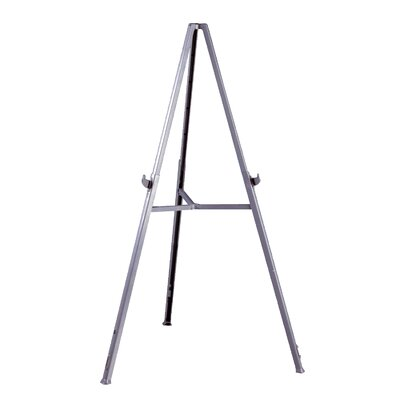 Ghent Triumph Display Easel - Gray Resin, Portable and Lightweight