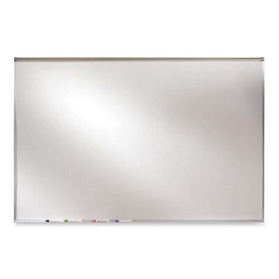 Ghent Projection Board, Dry-Erase Brd, 4'x6', Aluminum Frame/White