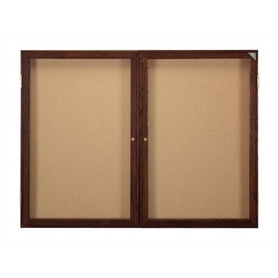 Ghent Enclosed Bulletin Board (2 door)