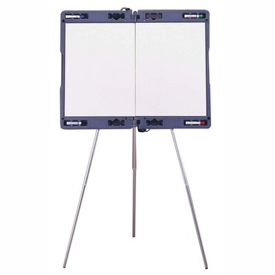 "Ghent Portable Presentation Easel, Extends 23-1/2""x35-1/2"", Gray"