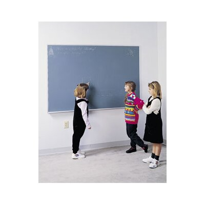 "Ghent Duroslate Chalkboard with Traditional 1/4"" Hardboard Backing"