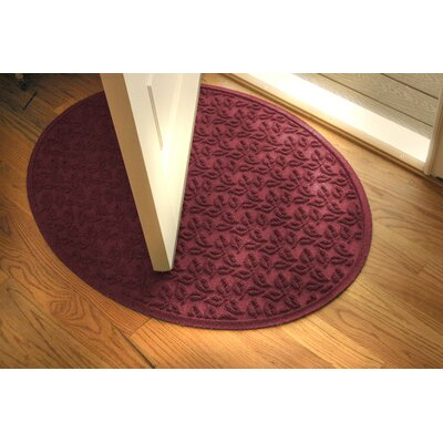 Bungalow Flooring Aqua Shield Dogwood Leaf Mat