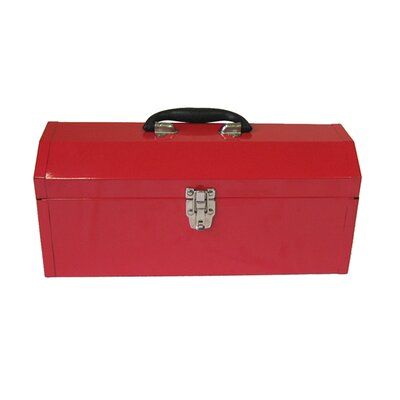 "Excel Hardware 16.9"" Portable Metal Tool Box"