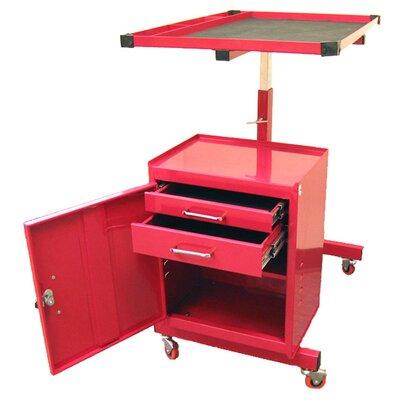 Excel Hardware Adjustable Metal Tool Cart
