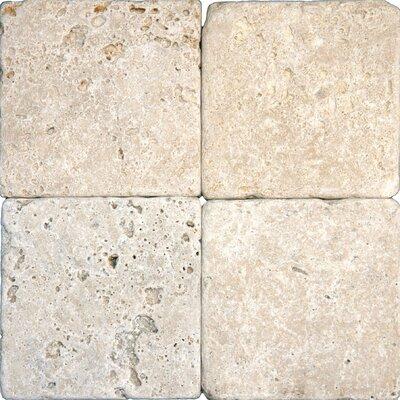 Tumbled Travertine Tile in Tuscany Classic