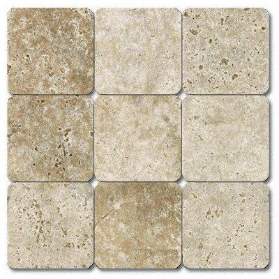 MS International Tumbled Travertine Tile in Tuscany Classic