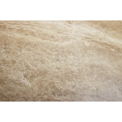 "MS International 24"" x 6"" Honed Travertine Tile in Caramel"
