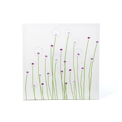 Avalisa Imaginations Dandelion Stretched Canvas Art