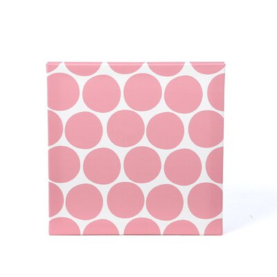Pattern Dots Stretched Canvas Art