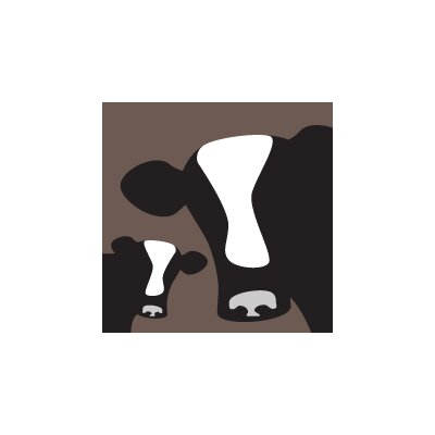 Avalisa Animal - Cows Stretched Wall Art