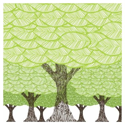 Avalisa Imagination - Forest Stretched Wall Art