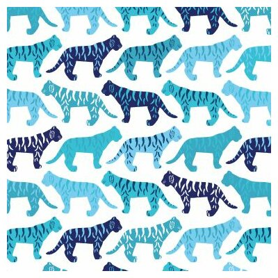 Animals Tiger Pattern Stretched Canvas Art